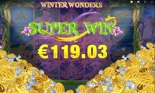 Play Winter Wonders video slot